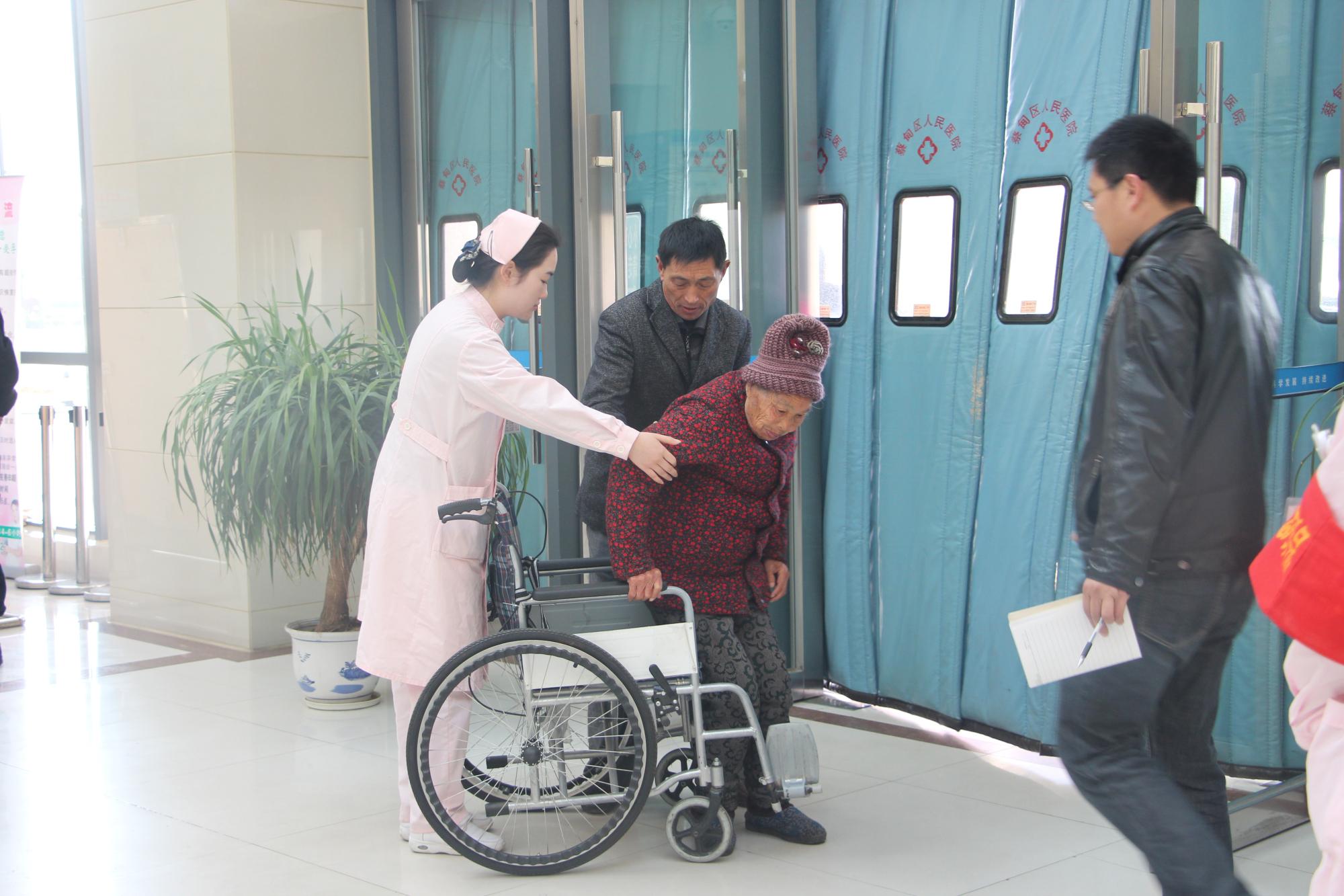 履行公立医院社会责任  协和江北医院开展精准扶贫对